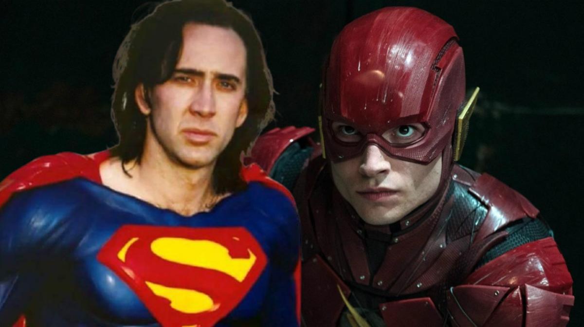 Вот это слух: Николас Кейдж может примерить роль Супермена во «Флэше»