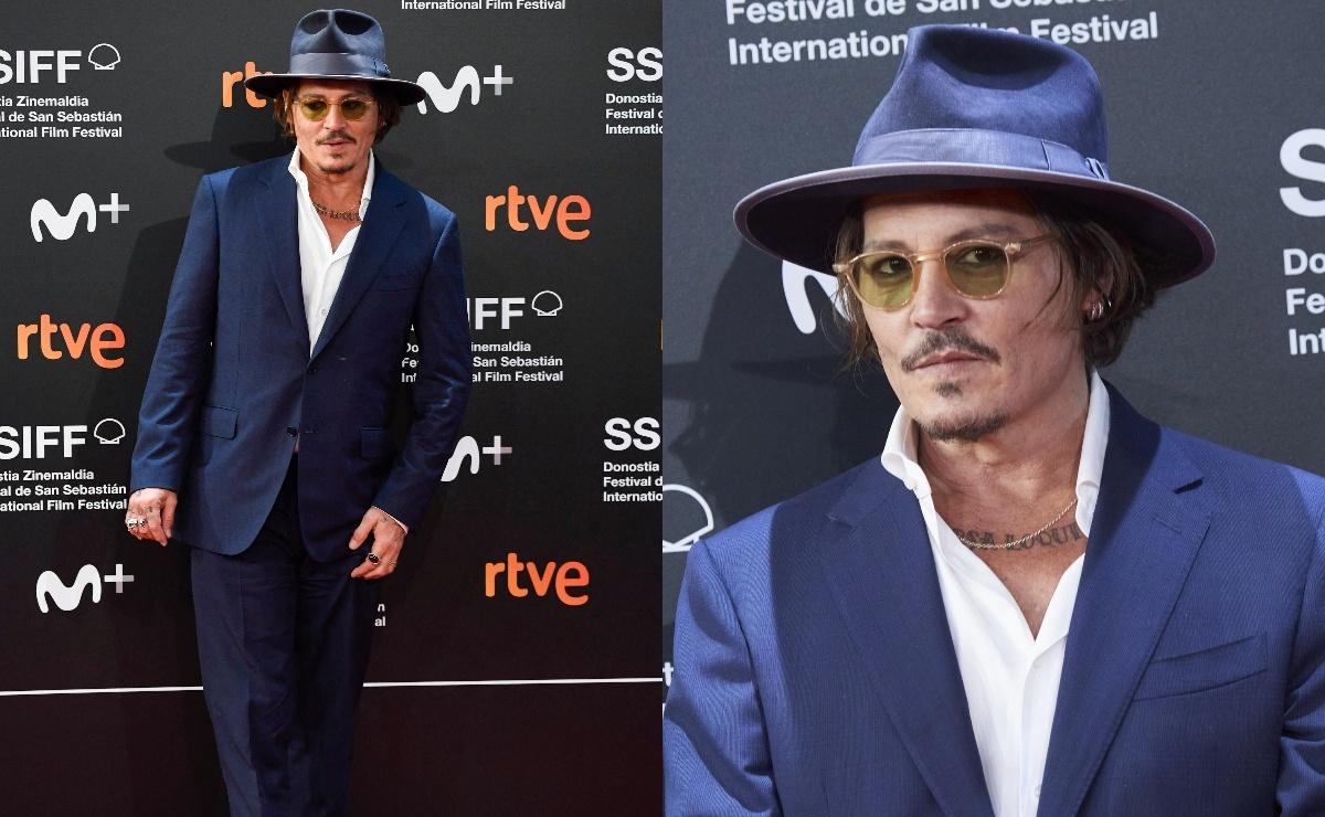 Все хорошеет: Джонни Депп на премьере фильма на кинофестивале в Сан-Себастьяне