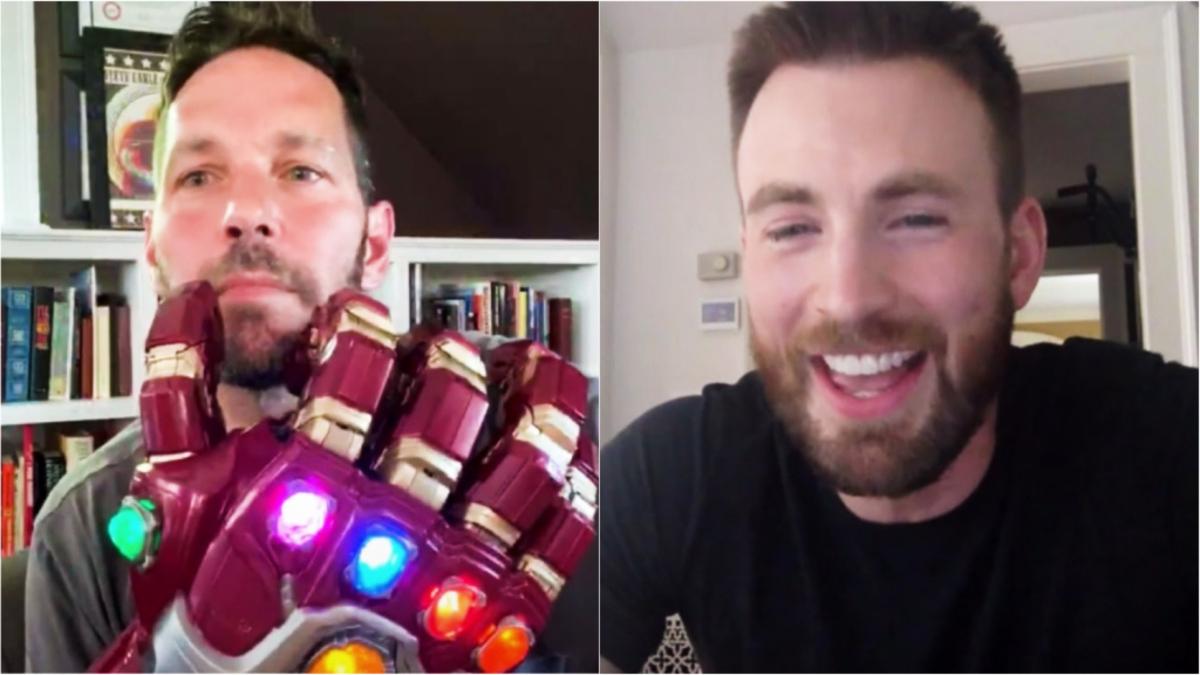 Размер имеет значение: Крис Эванс задал коллеге по «Мстителям» смущающий вопрос