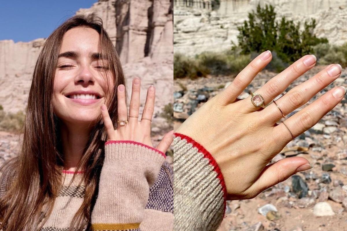 От Арианы Гранде до Эммы Стоун: необычные обручальные кольца звезд