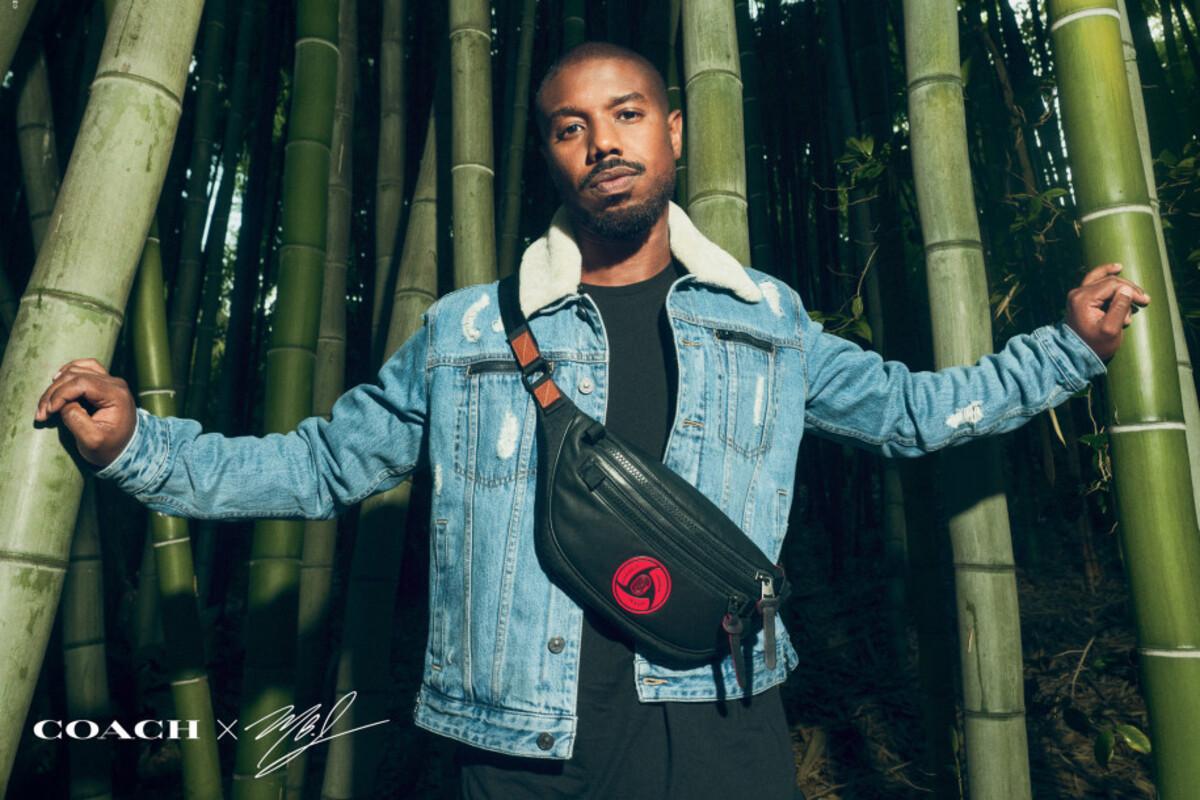 Модный шаринган: Майкл Б Джордан выпустил коллекцию одежды в стиле «Наруто»