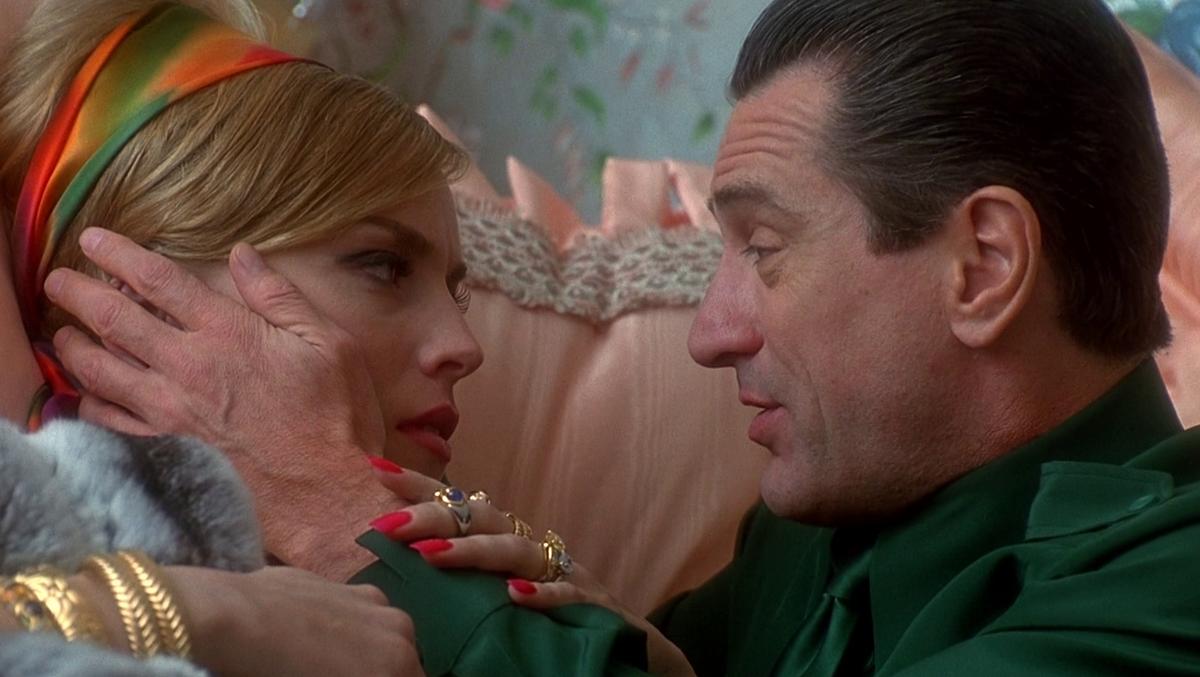 Шэрон Стоун рассказала, что ее лучший экранный поцелуй был с Робертом Де Ниро