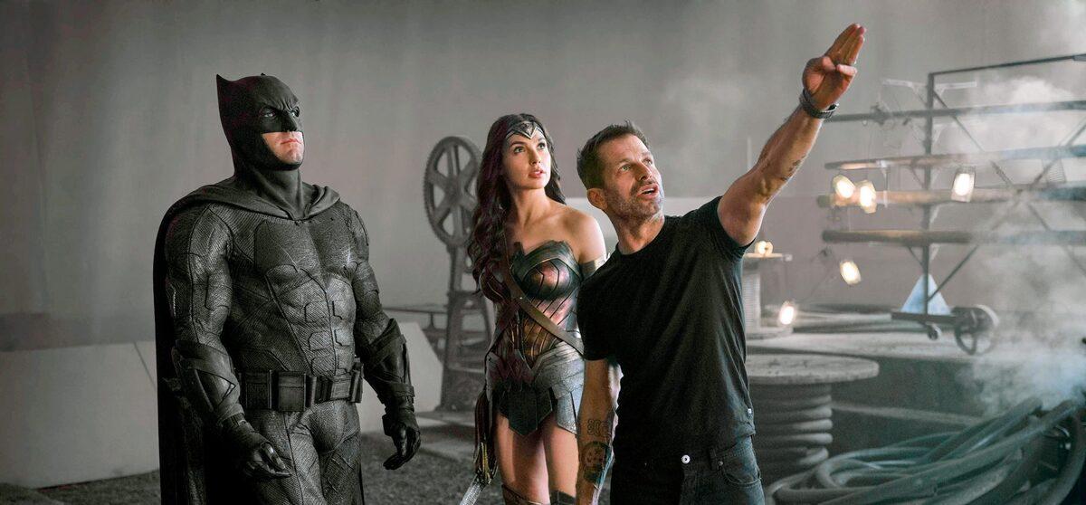 HBO Max опубликовал серию новых фото со съемок «Лиги справедливости» Зака Снайдера