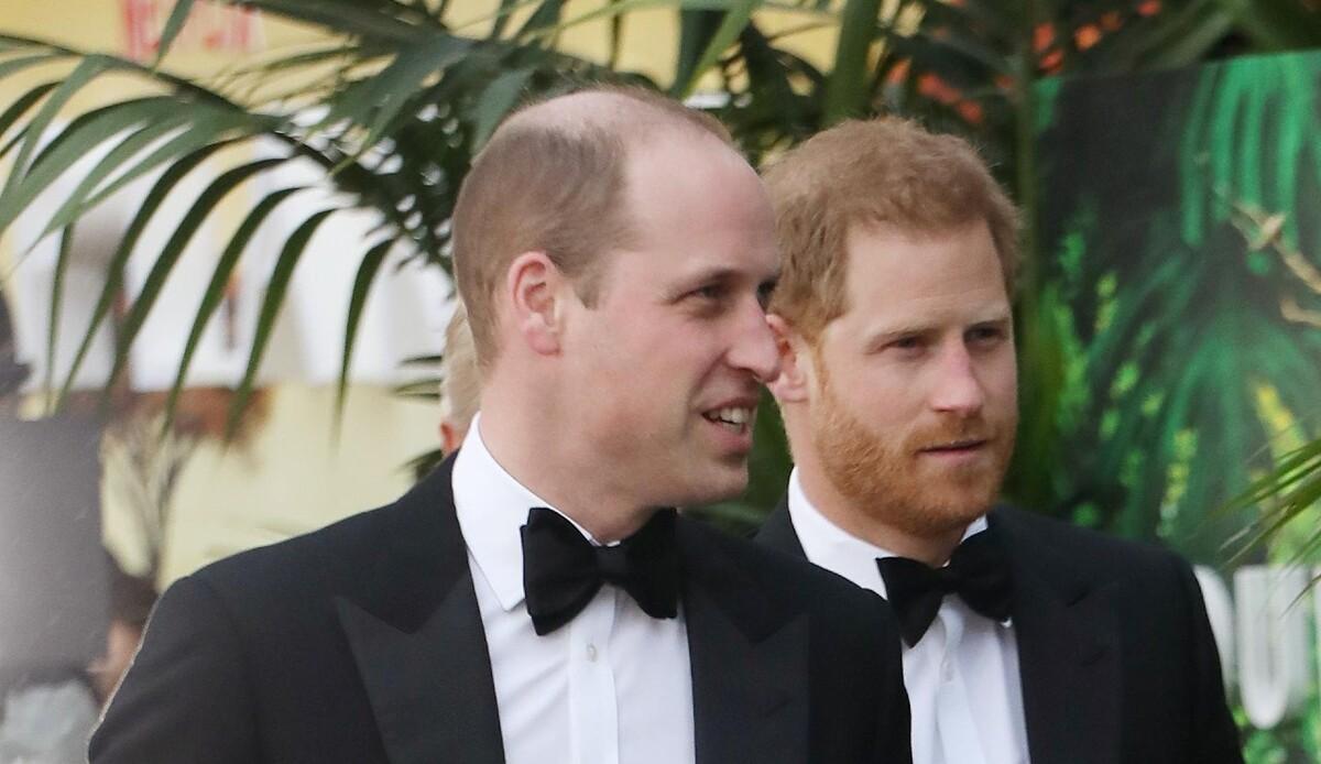 Принц Уильям думает, что Голливуд вскружил Гарри голову