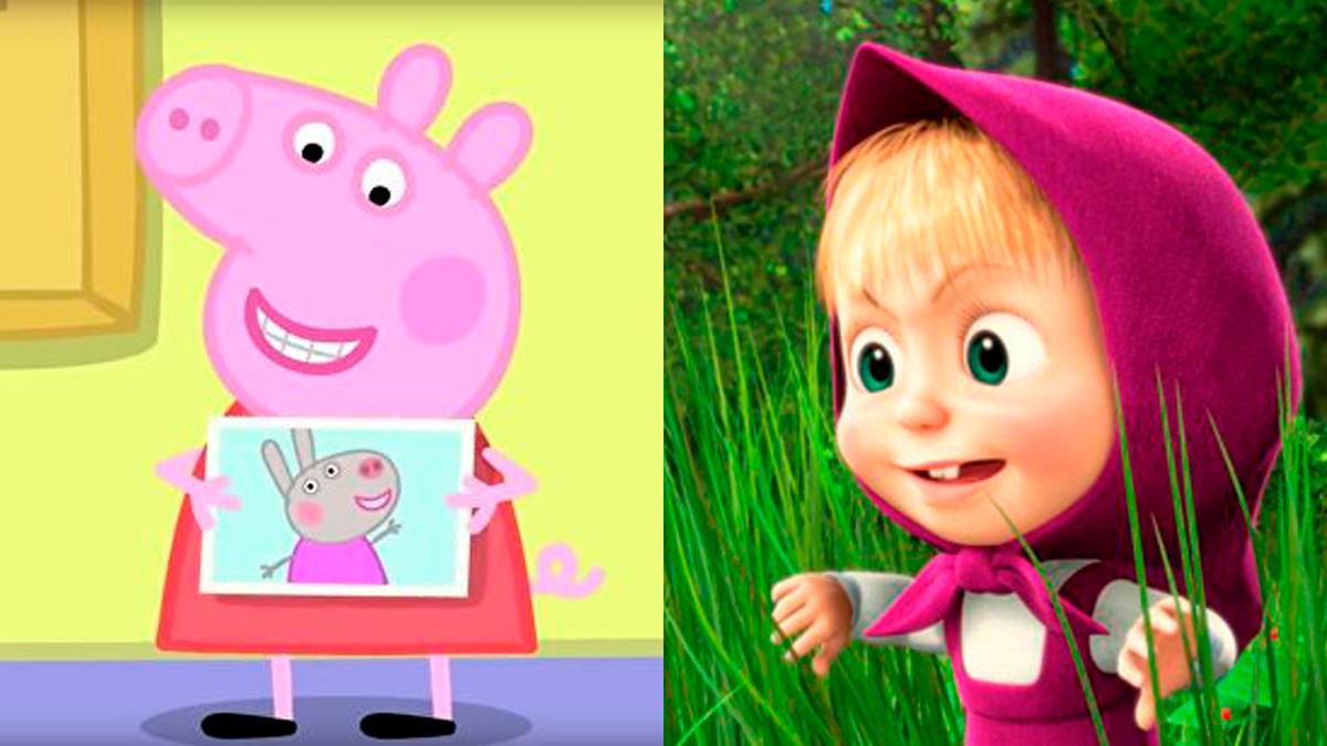 Потеснили свинку: «Маша и медведь» стал самым популярным мультиком в мире