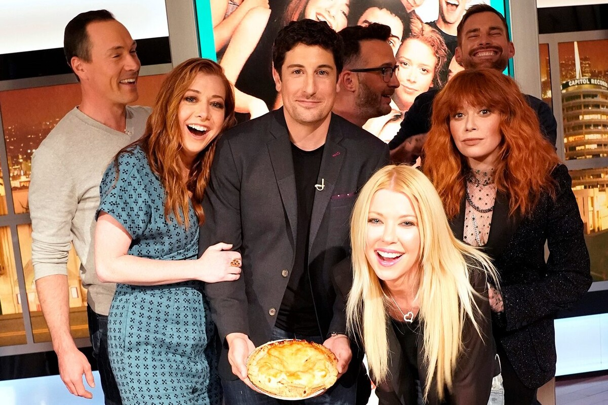 Звезды «Американского пирога» воссоединились спустя 20 лет