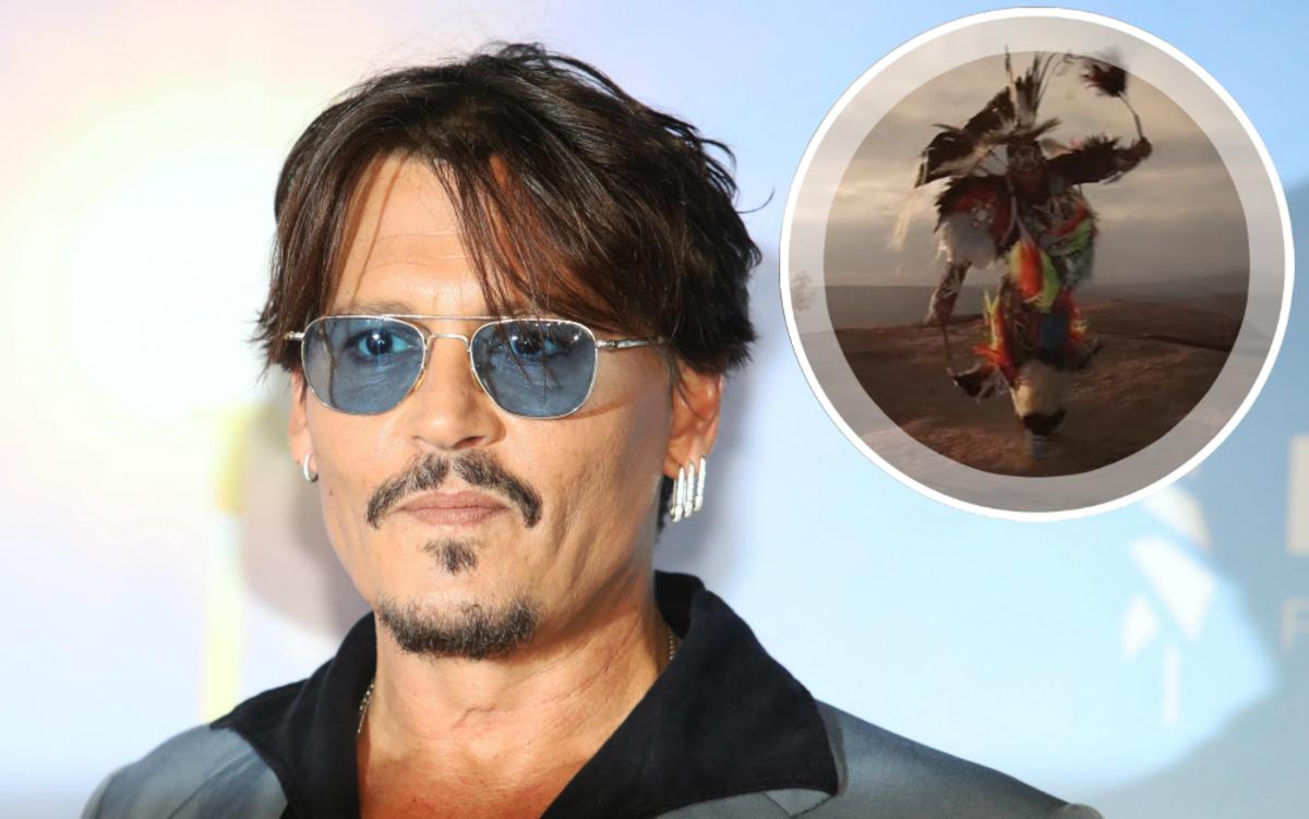 Джонни Депп заступился за бренд Dior, обвиненный в расизме за рекламу с индейцами