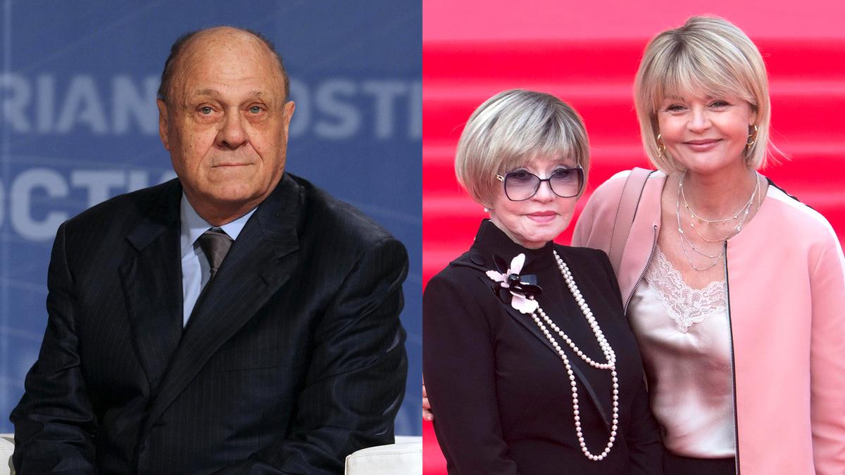 Странное поведение жены и дочери на похоронах Меньшова смутило публику