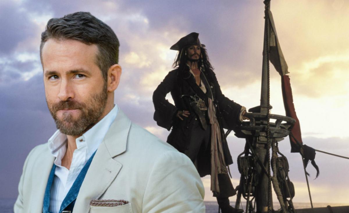 Слух: Райана Рейнольдса хотят пригласить в спин-офф «Пиратов Карибского моря»