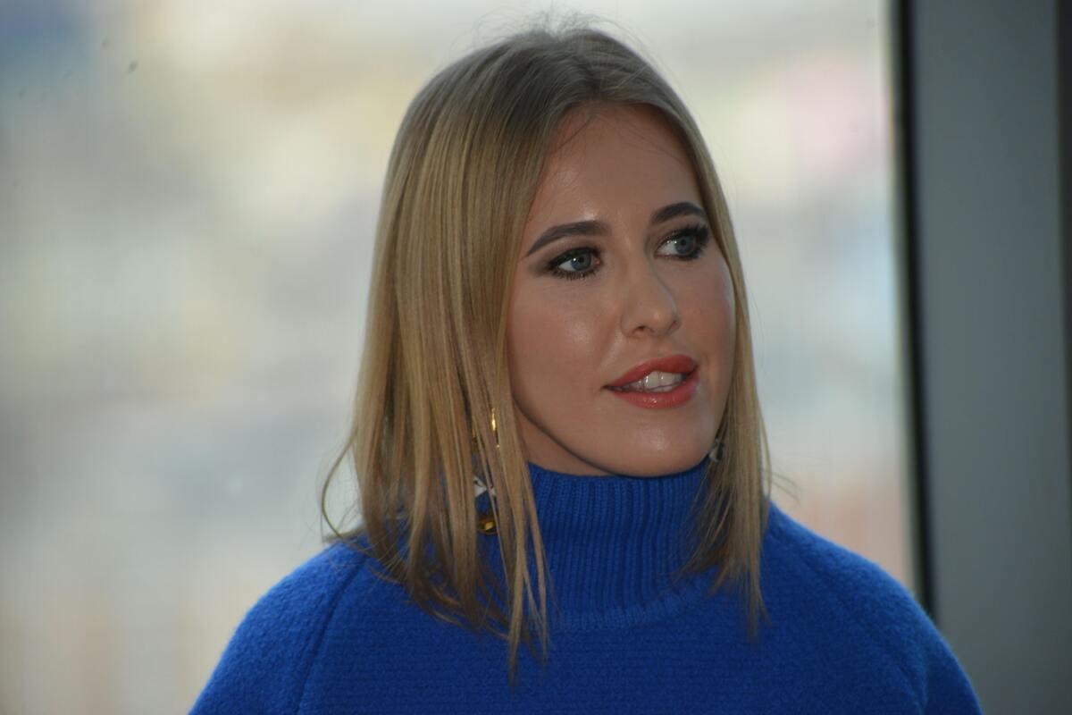 Видео с аварией Ксении Собчак в Сочи появилось в Сети