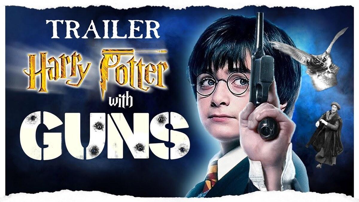 Волан-де-Морт не устоит: героям «Гарри Поттера» дали огнестрельное оружие в фан-видео