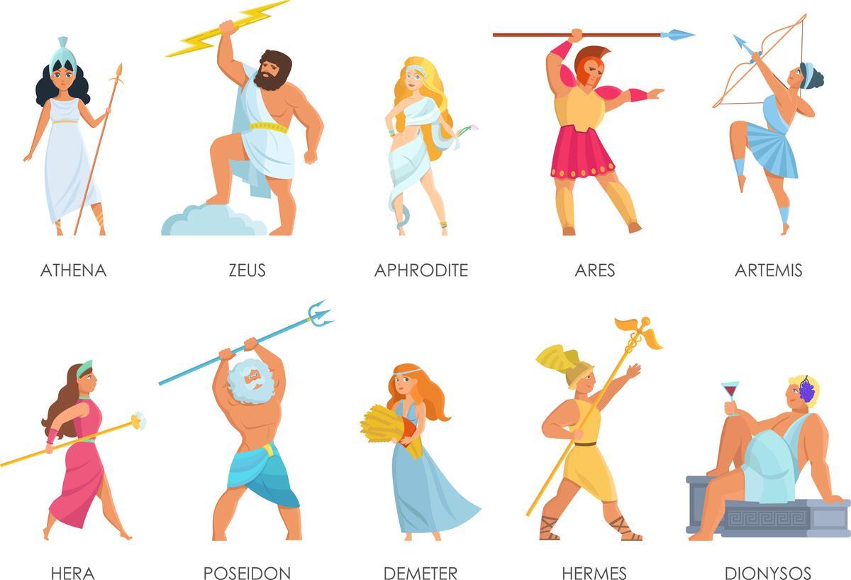 Тест: на какую греческую богиню вы похожи?