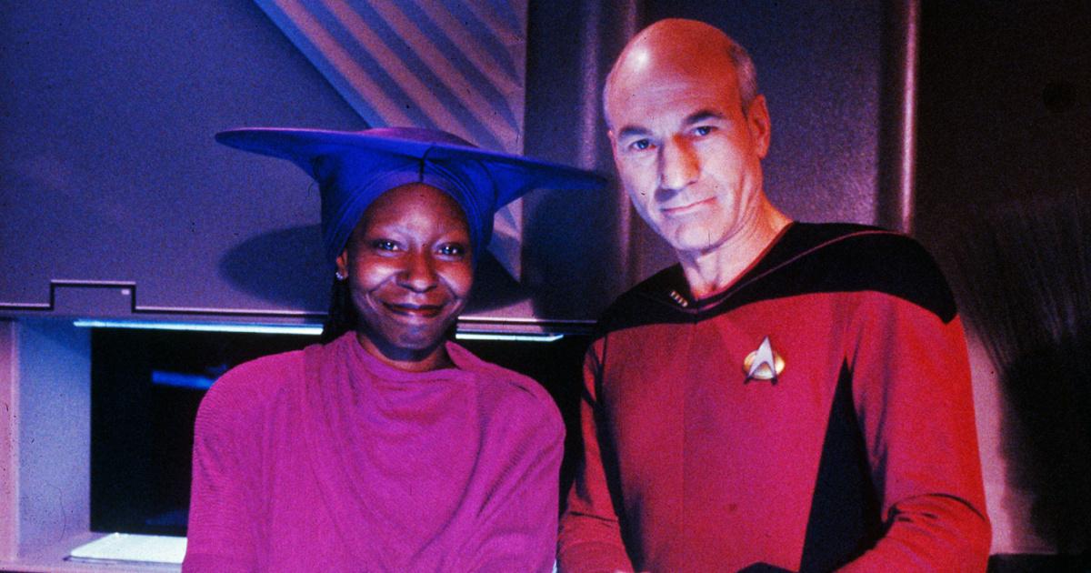 Экранный капитан Пикар пригласил Вупи Голдберг во 2 сезон «Звездного пути»