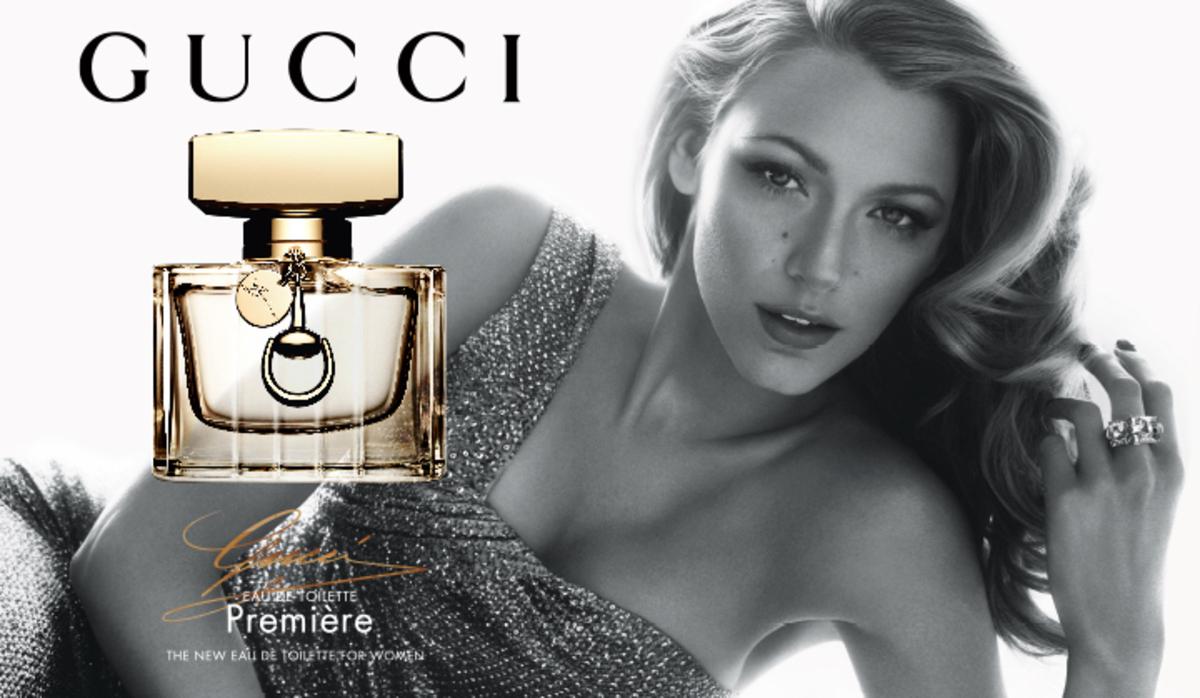 Блейк Лайвли в рекламе аромата Gucci Premiere Eau de Toilette