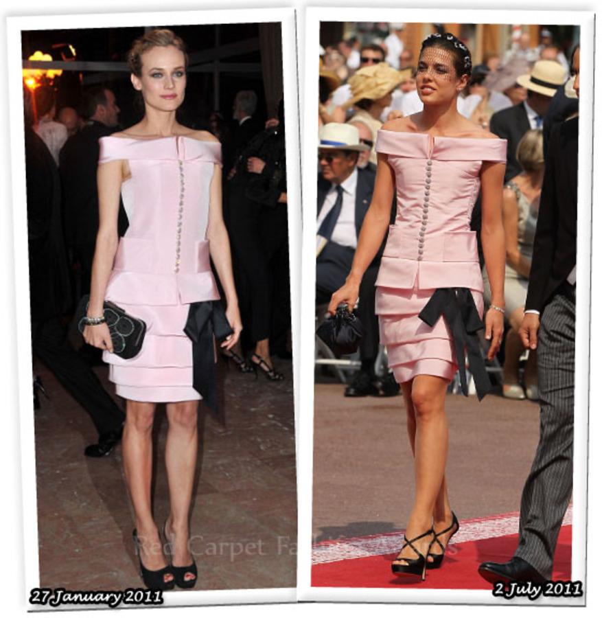 Fashion Battle: Дайан Крюгер и Шарлотта Казираги