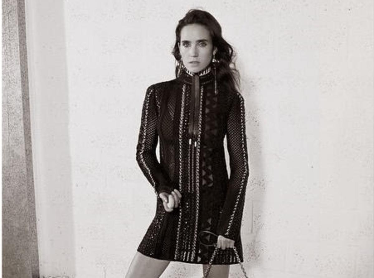 Первый взгляд на Дженнифер Коннелли в рекламной кампании Louis Vuitton. Весна 2015