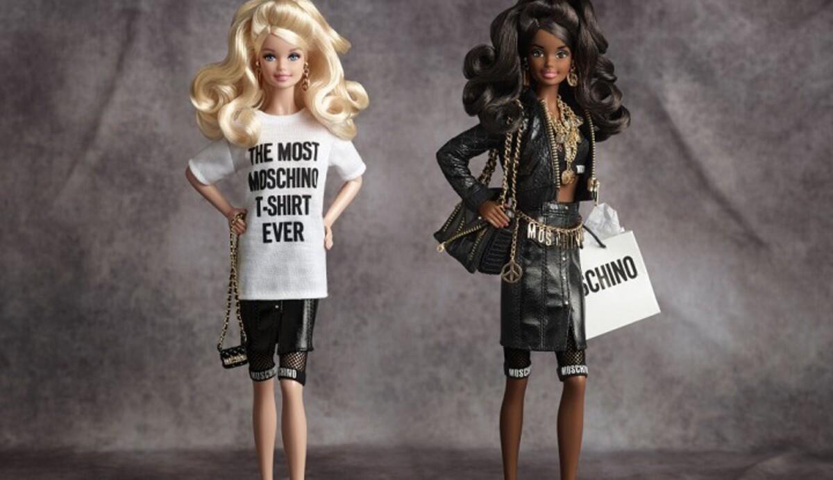 Куклы  Barbie  в нарядах  Moschino были распроданы за час