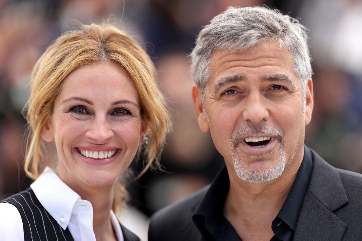 Джулия Робертс и Джордж Клуни представили «Финансовый монстр» в Каннах