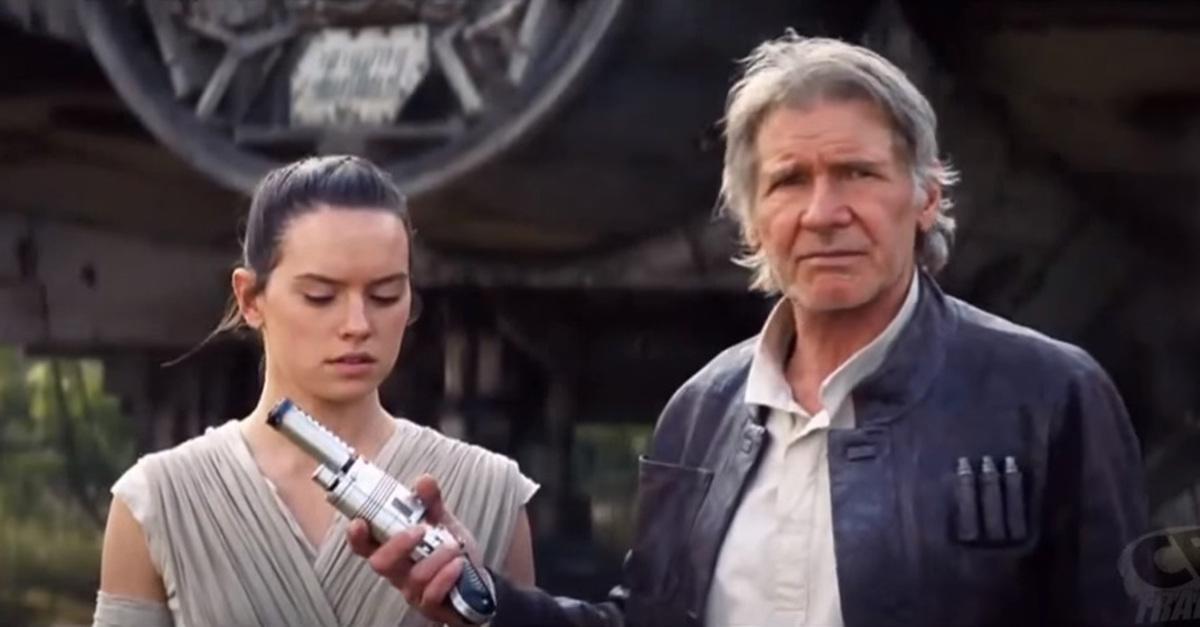 Хан Соло и Чубакка снова в деле в новом видео VII эпизода «Звездных войн»
