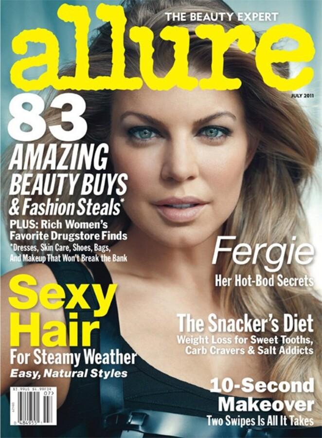 Ферги в журнале Allure. Июль 2011