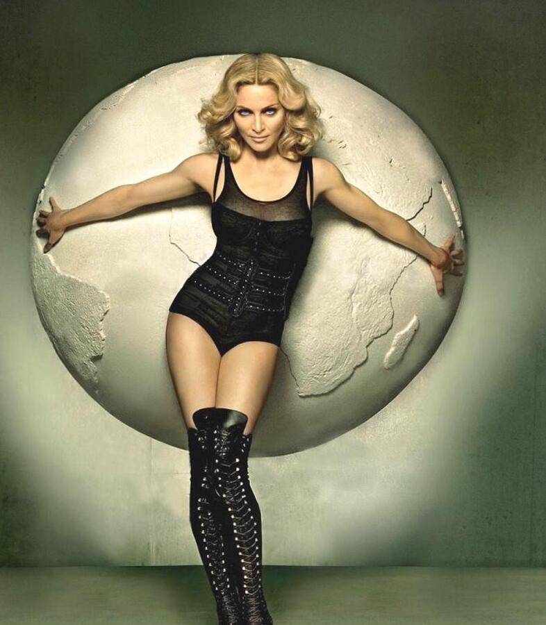 Мадонна приедет в сентябре в Санкт-Петербург