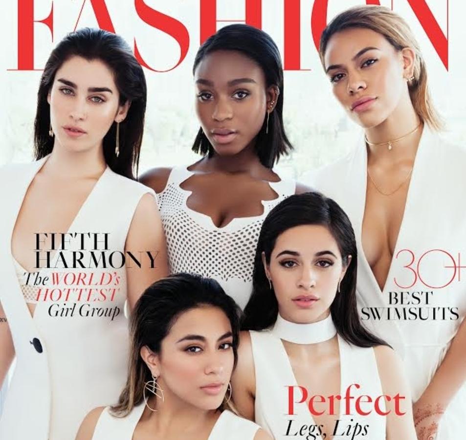 Группа Fifth Harmony в журнале Fashion. Лето 2016