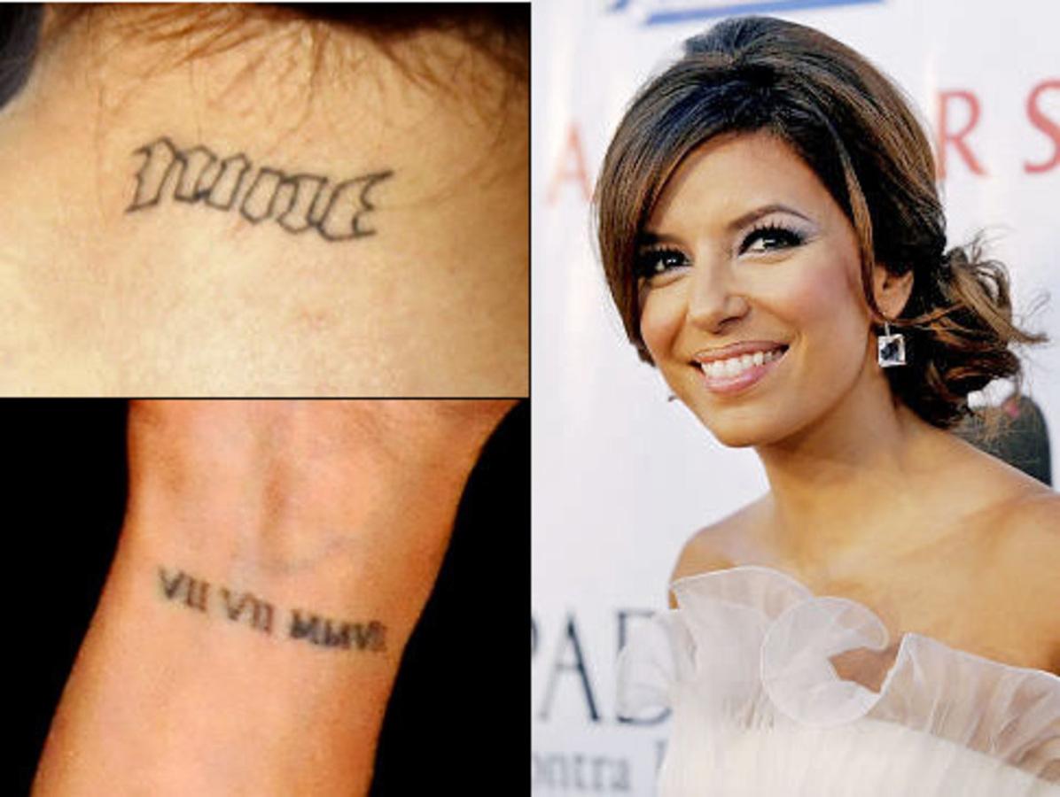 Ева Лонгория: все татуировки при мне!