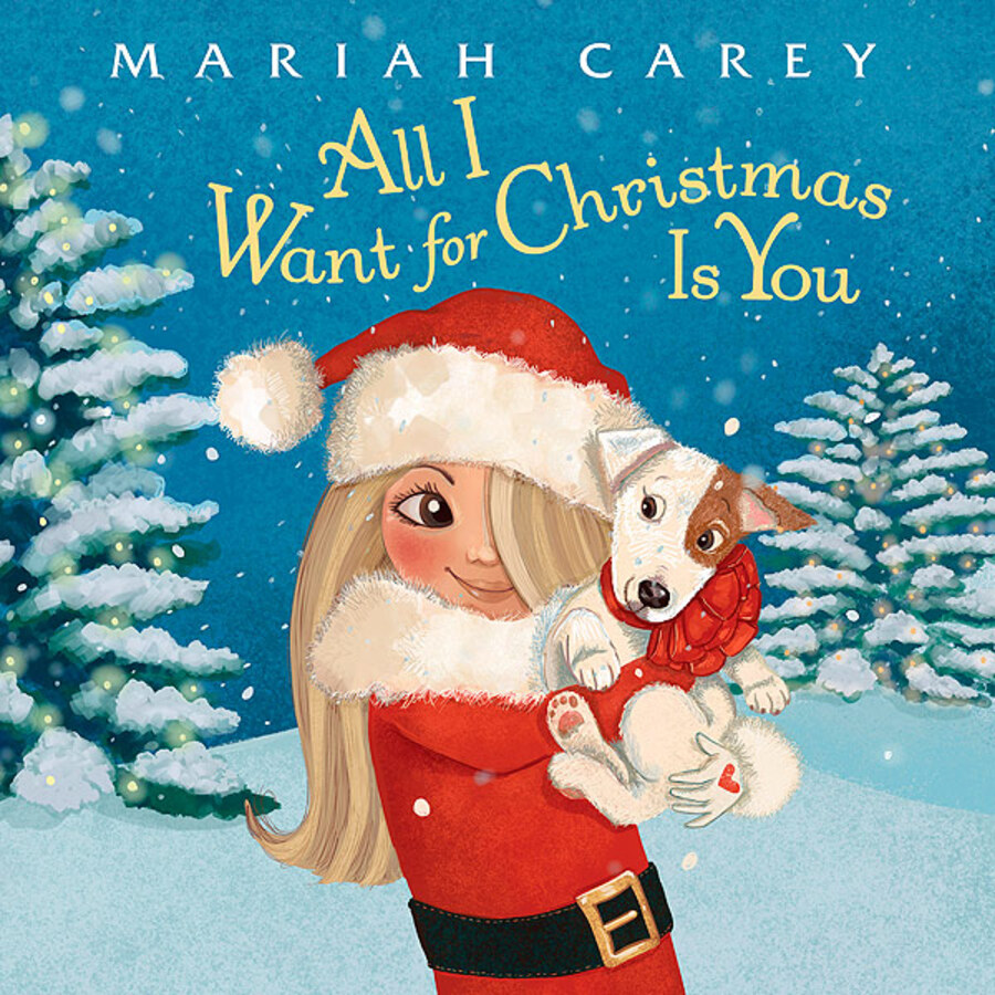 Мэрайя Кэри выпускает рождественскую книгу для детей