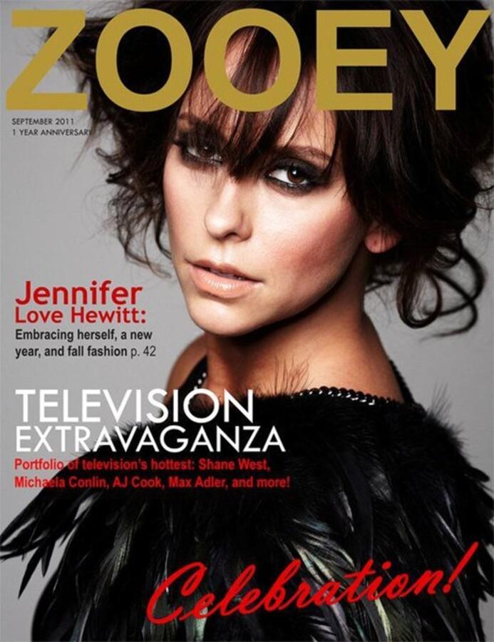 Дженнифер Лав Хьюитт в журнале ZOOEY. Сентябрь 2011
