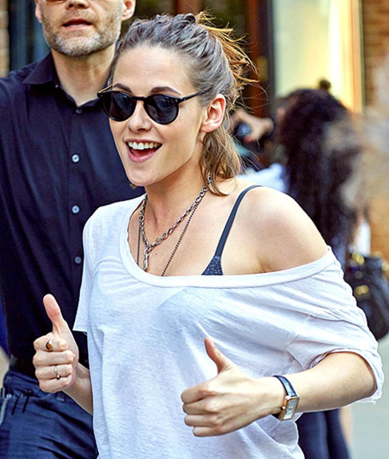 Редкие фото: Кристен Стюарт все-таки умеет улыбаться!