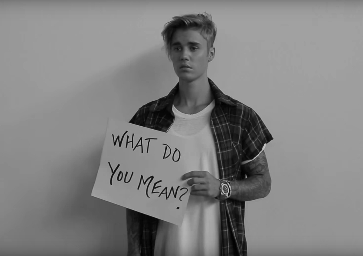 Джастин Бибер представил акустическую версию своей песни What Do You Mean