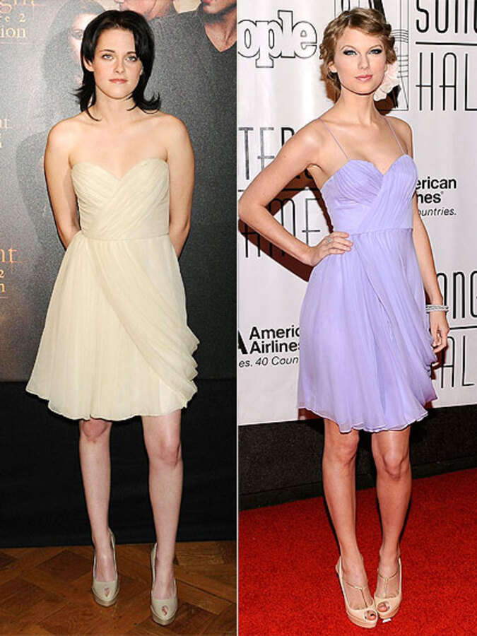 Fashion battle: Кристен Стюарт и Тэйлор Свифт