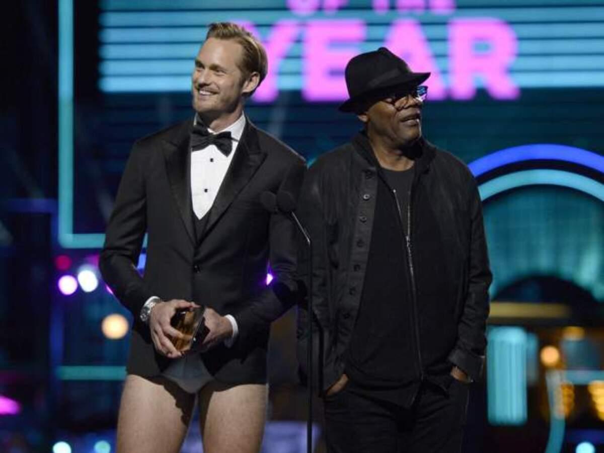 Александр Скарсгард вышел на сцену MTV Movie Awards 2016 без штанов