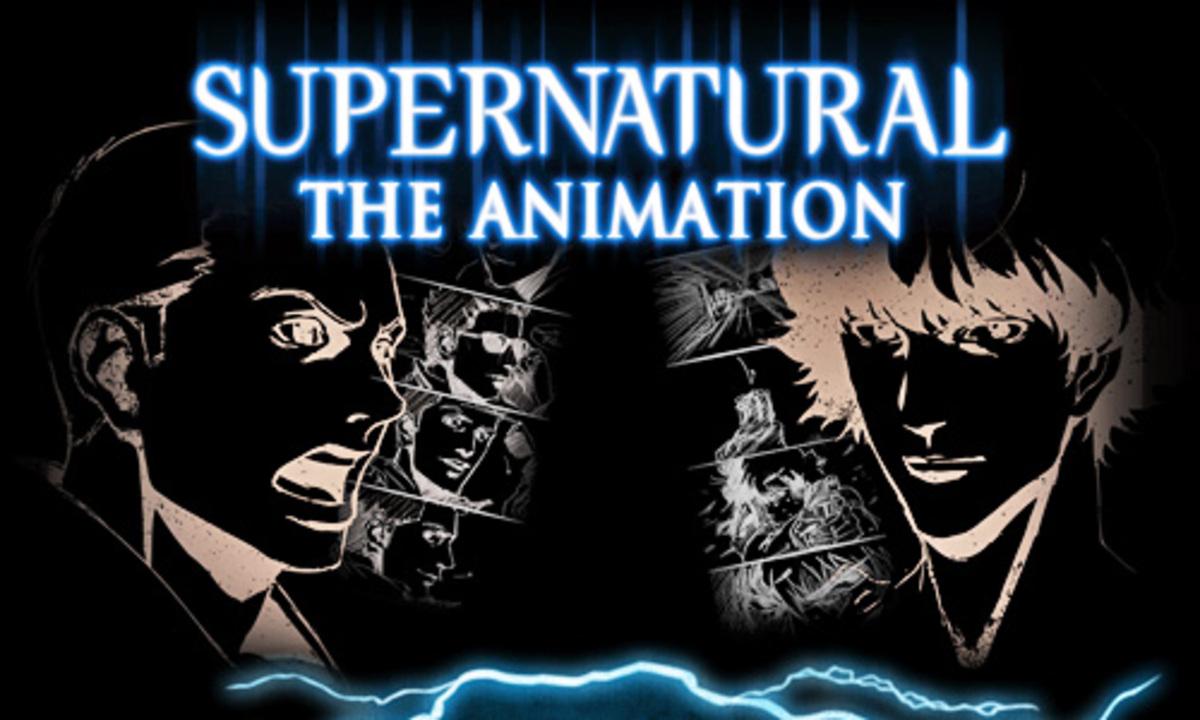 Трейлер японской анимационной версии сериала «Сверхъестественное»