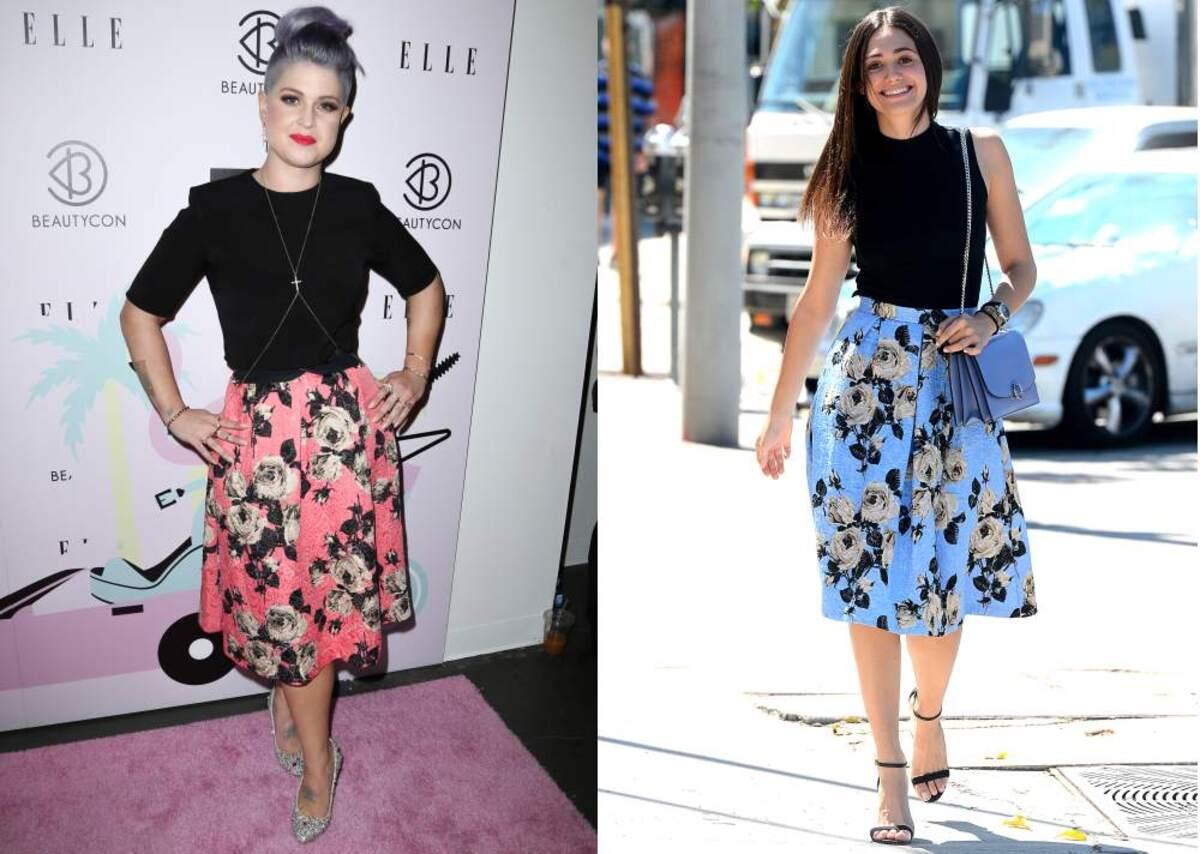 Fashion battle: Келли Осборн и Эмми Россум