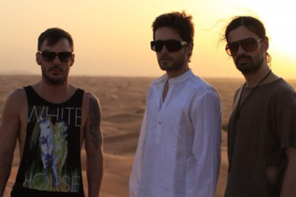 Группа 30 Seconds To Mars возвращается в Россию
