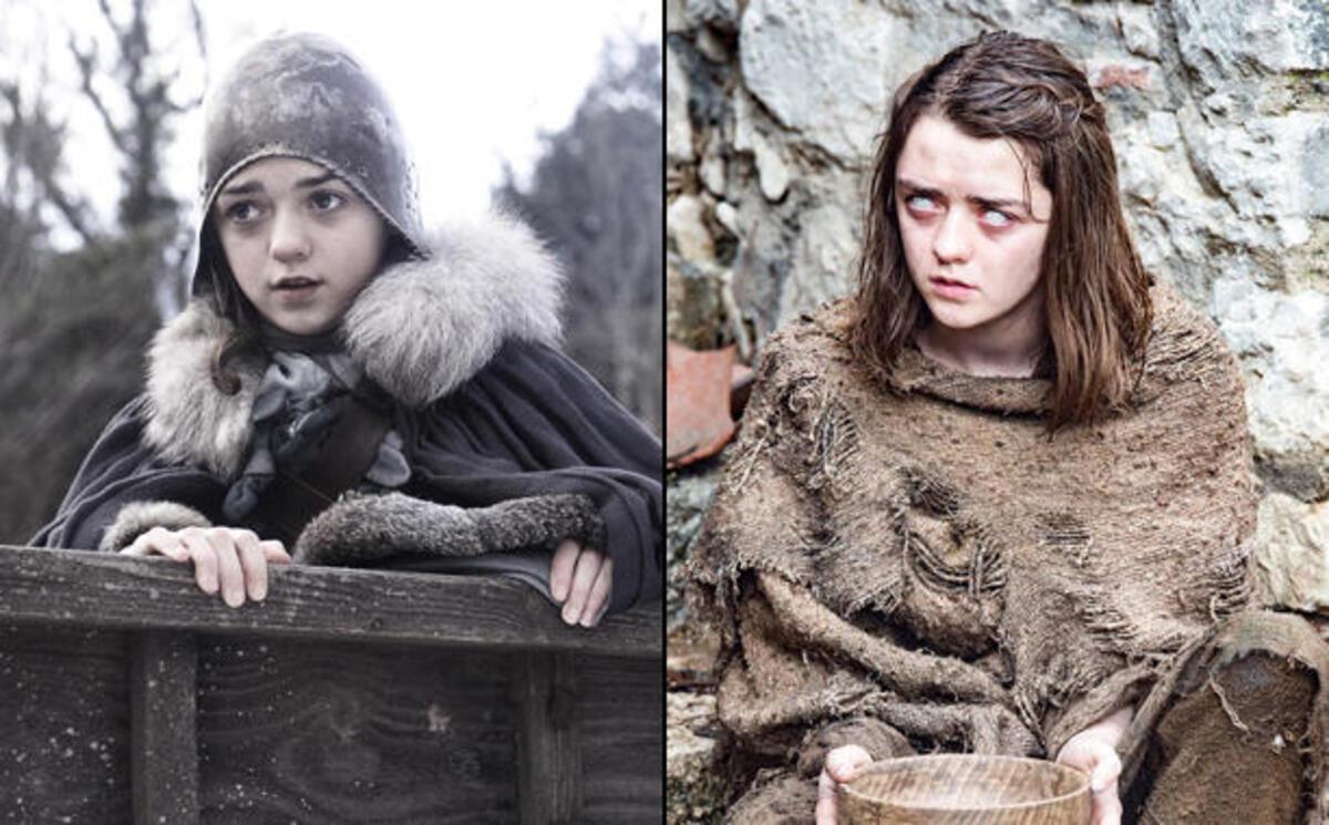 Эволюция «Игры престолов»: герои сериала вчера и сегодня