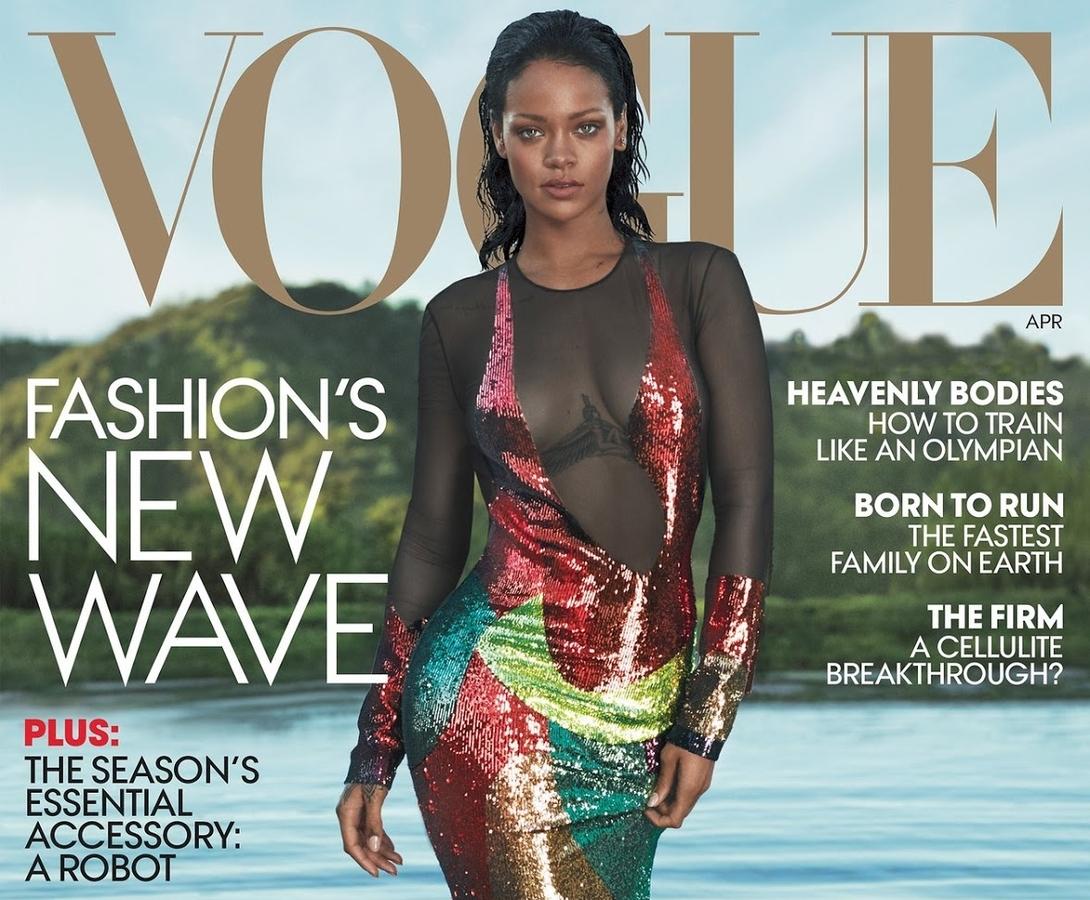 Рианна в журнале Vogue. Апрель 2016