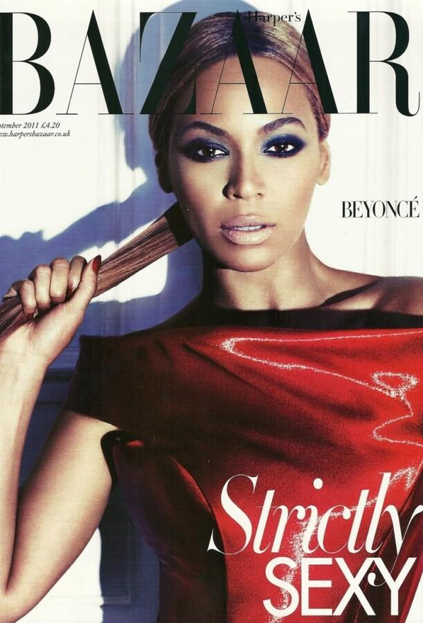 Бейонсе в журнале Harper's Bazaar UK. Сентябрь 2011