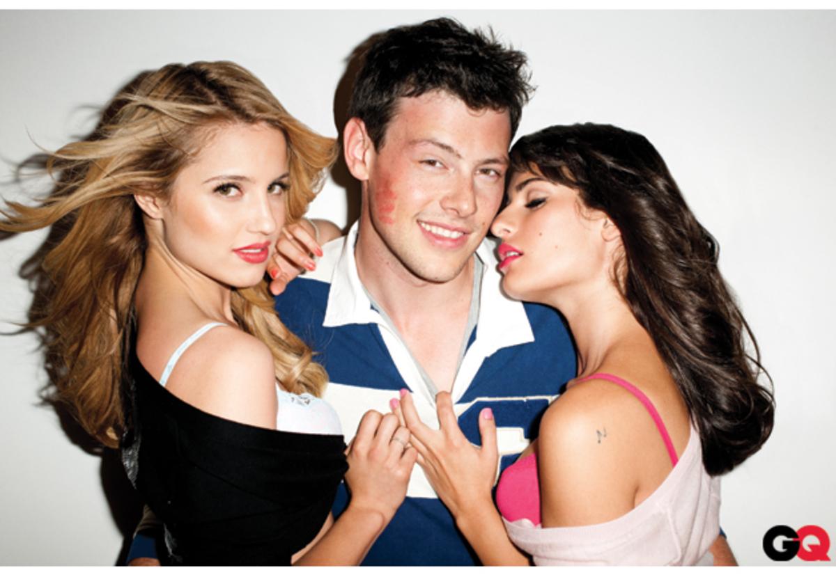 """Ролик о провокационной фотосъемке актеров сериала """"Хор/Glee"""""""