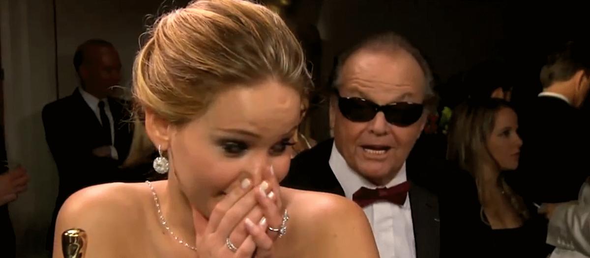 """Джек Николсон поздравил Дженнифер Лоуренс с победой на """"Оскаре"""""""