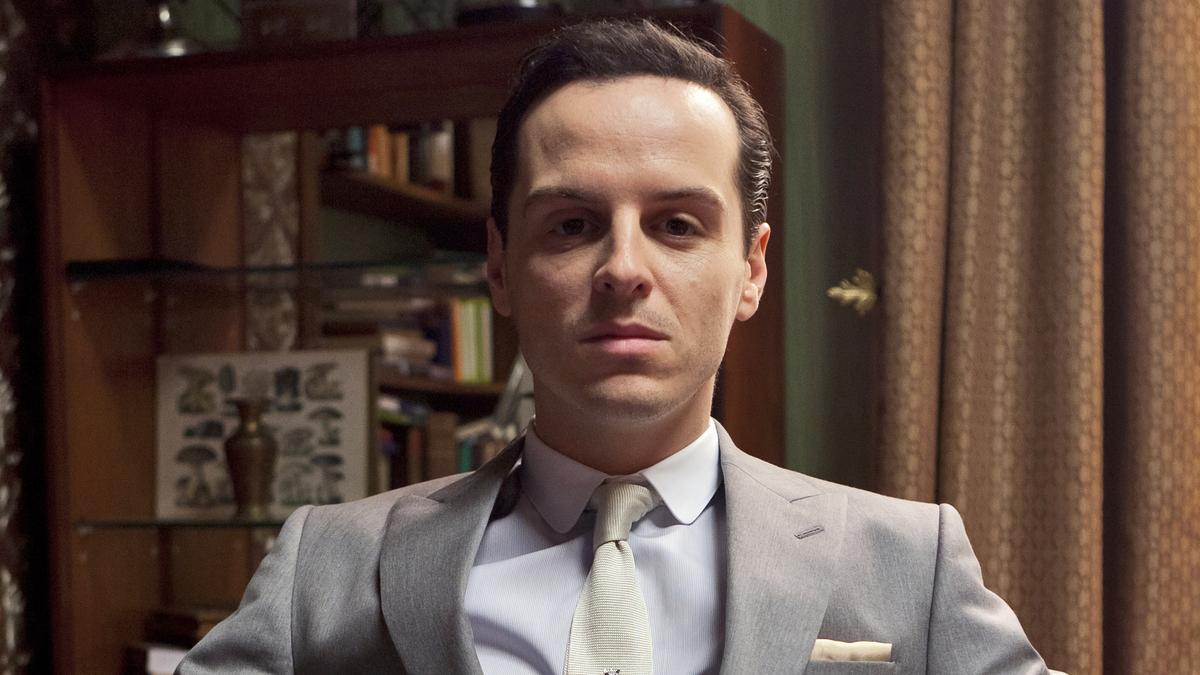 Мориарти возвращается: новые кадры с Эндрю Скоттом из 4 сезона «Шерлока»