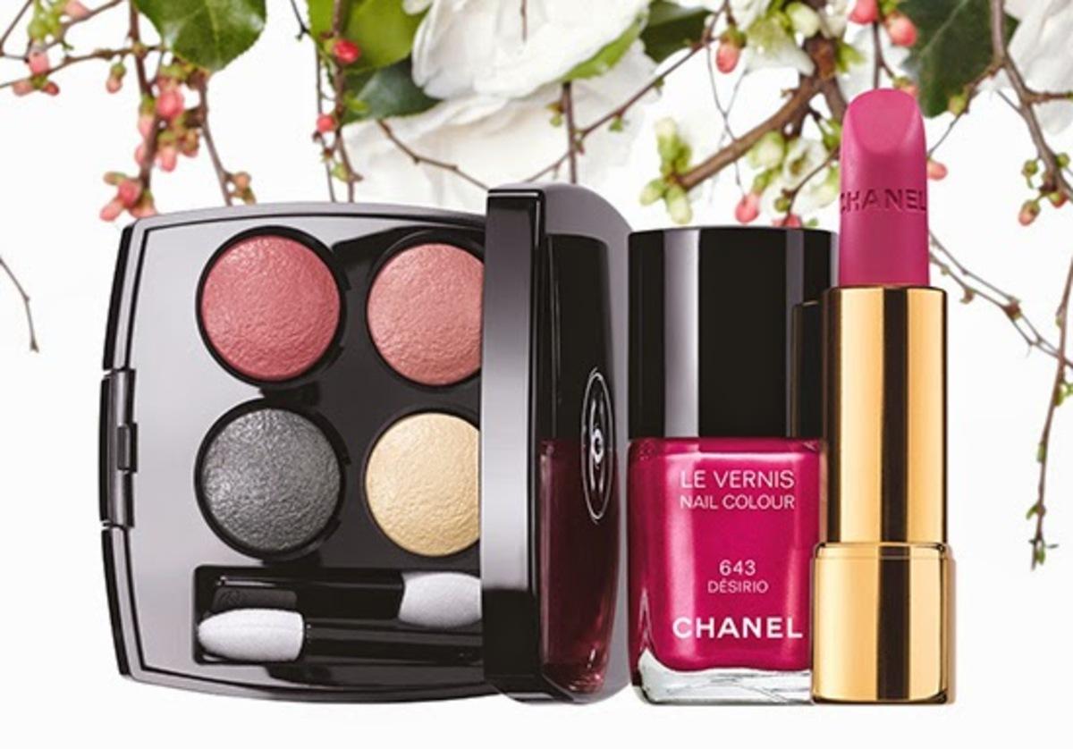 Новая коллекция декоративной косметики Chanel Reverie Parisienne. Весна 2015