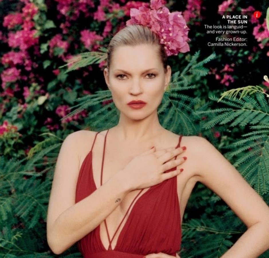 Кейт Мосс со своим мужем в журнале Vogue. Май 2015