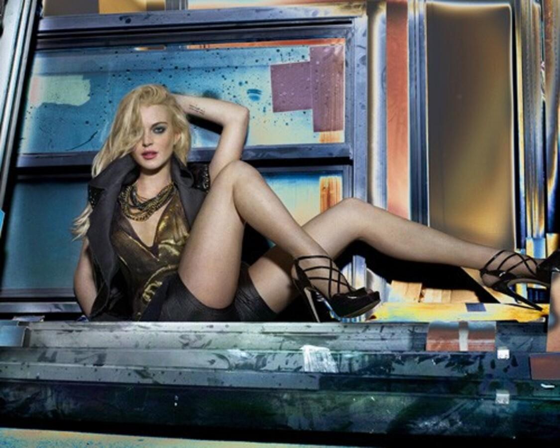 Линдсей Лохан в новой рекламе одежды 6126