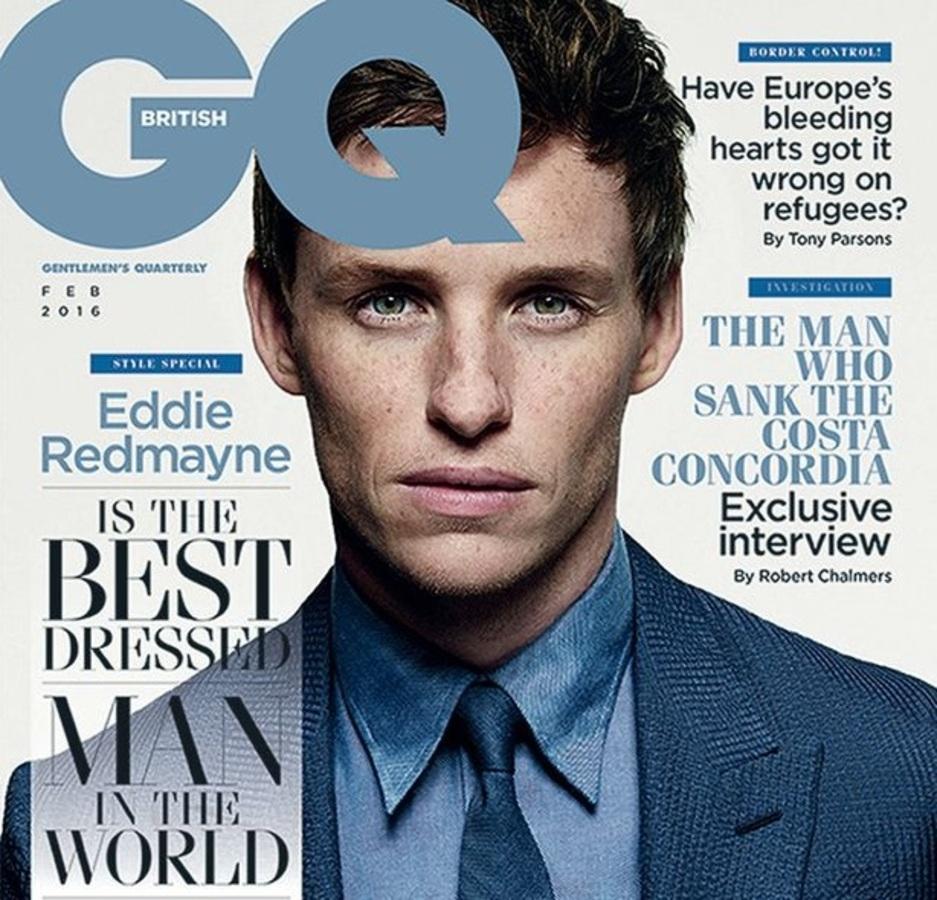 Британский GQ назвал Эдди Редмэйна самым стильным мужчиной в мире