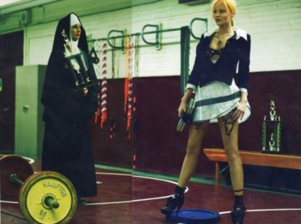 Миранда Керр на съемках для журнала Numero