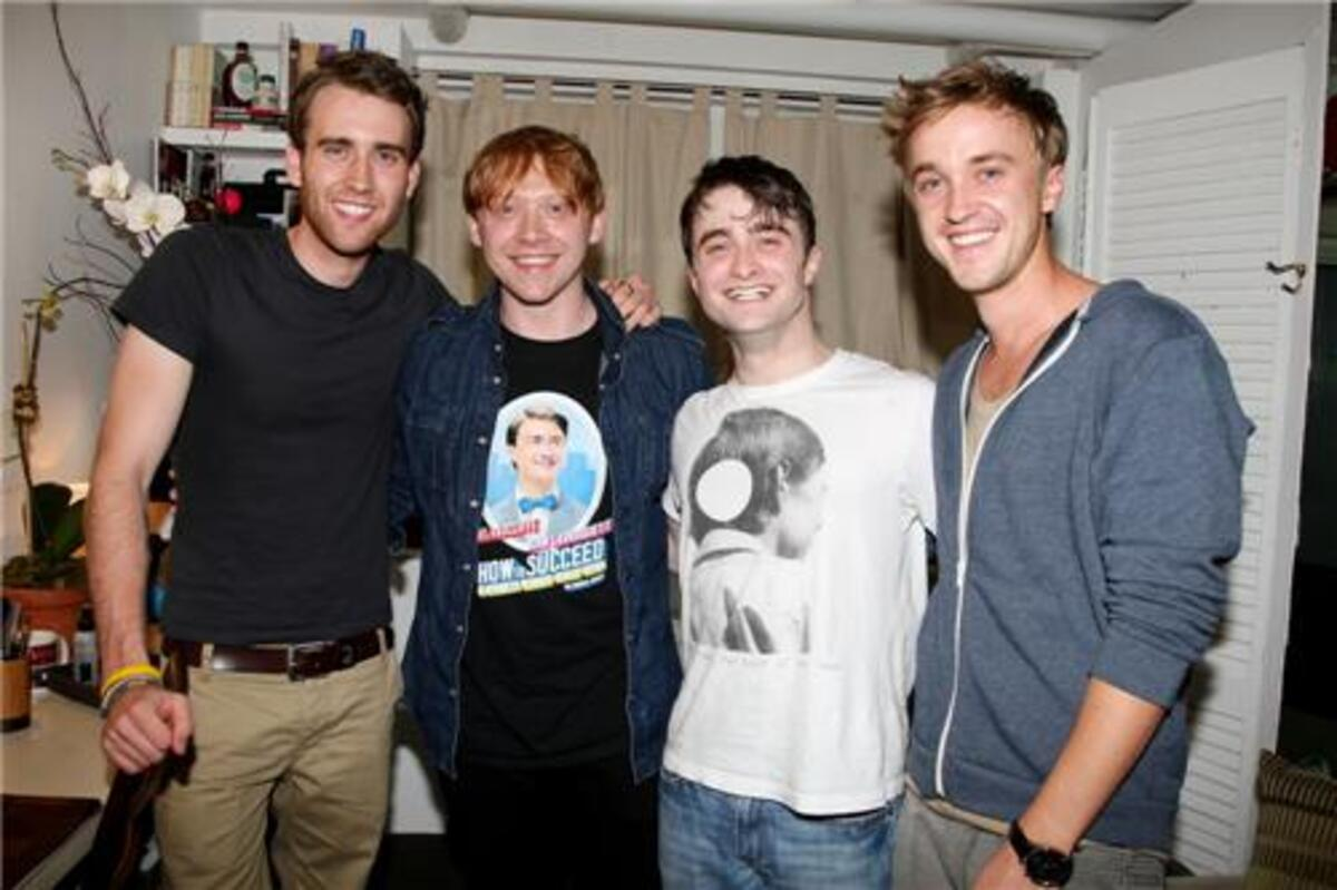 Звезды «Гарри Поттера» на шоу «Как преуспеть в бизнесе, не прилагая усилий»