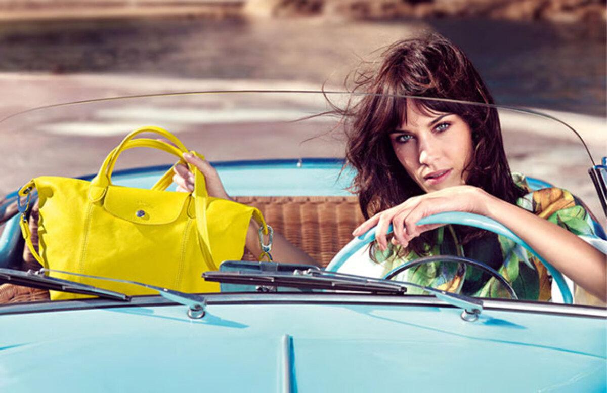 Алекса Чанг - новое лицо сумок Longchamp
