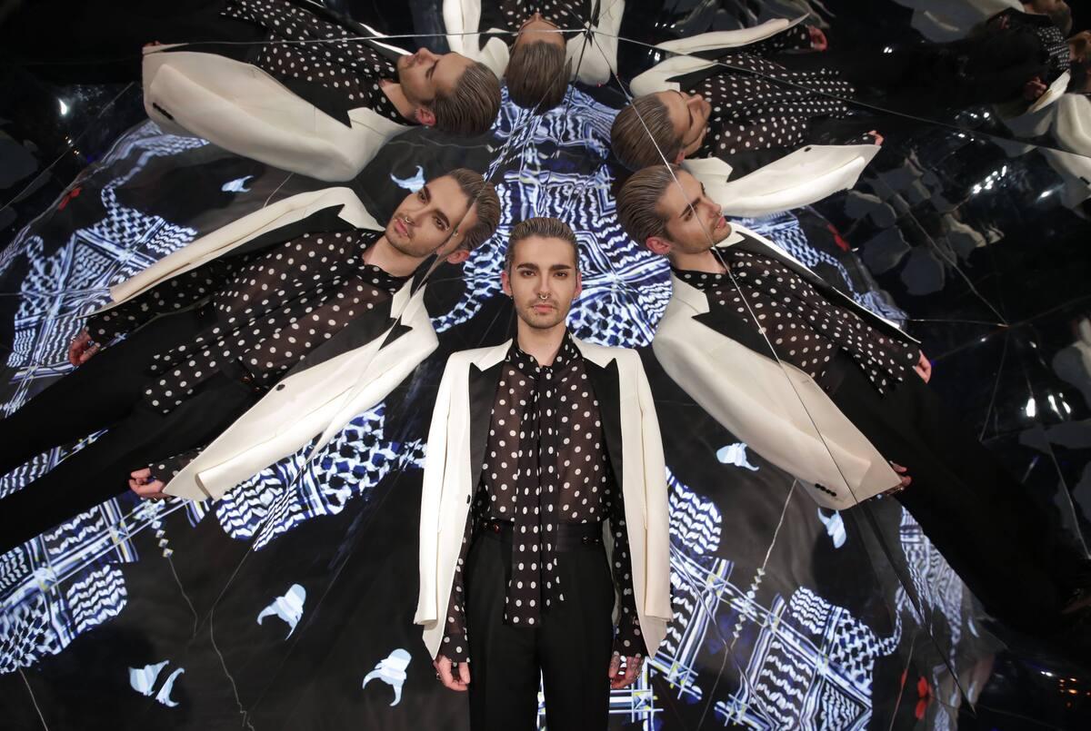 Солист Tokio Hotel Билл Каулитц представил сольный проект
